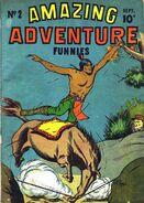 Amazing Adventure Funnies Vol 1 2