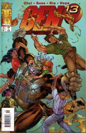 Cover for Gen¹³ #15 (1996)