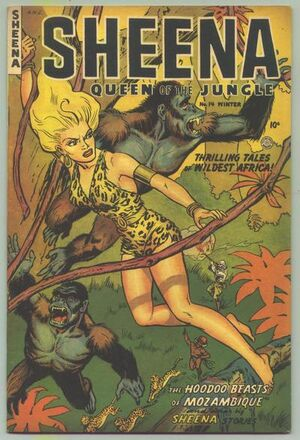 Sheena, Queen of the Jungle Vol 1 14
