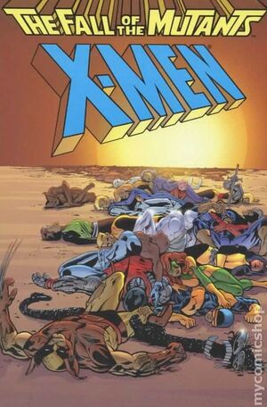 X-Men The Fall of the Mutants Vol 1 1-A