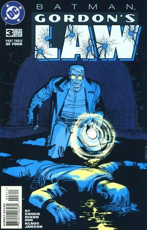 Batman Gordon's Law Vol 1 3
