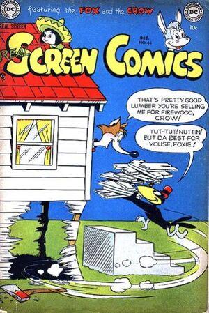 Real Screen Comics Vol 1 45