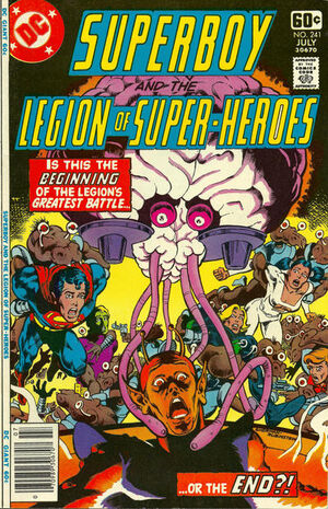 Superboy and the Legion of Super-Heroes Vol 1 241