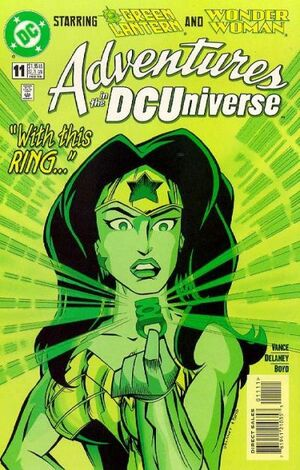 Adventures in the DC Universe Vol 1 11
