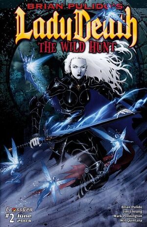 Brian Pulido's Lady Death The Wild Hunt Vol 1 2