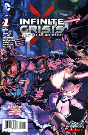 Infinite Crisis The Fight for the Multiverse Vol 1 1