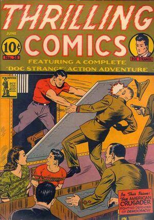 Thrilling Comics Vol 1 28