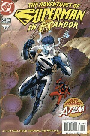 Adventures of Superman Vol 1 547