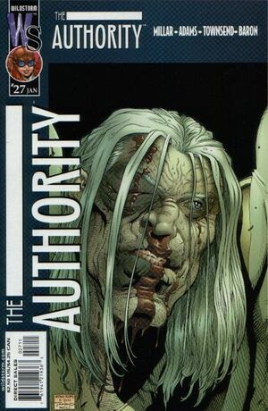 Cover for The Authority #27 (2002)