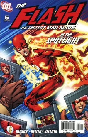 Flash The Fastest Man Alive Vol 1 5