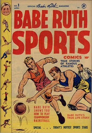 Babe Ruth Sports Comics Vol 1 1