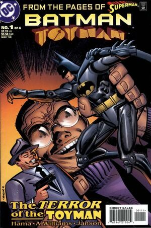 Batman Toyman Vol 1 1