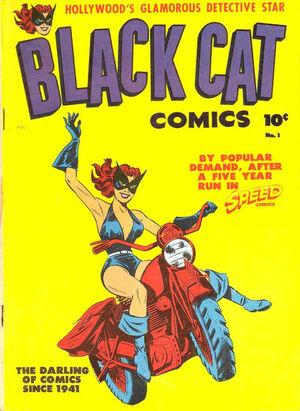 Black Cat Comics Vol 1 1
