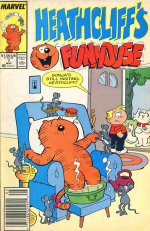 Heathcliff's Funhouse Vol 1 7 Newsstand