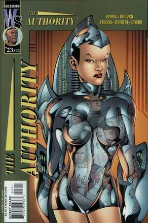 Cover for The Authority #23 (2001)