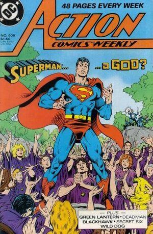 Action Comics Vol 1 606