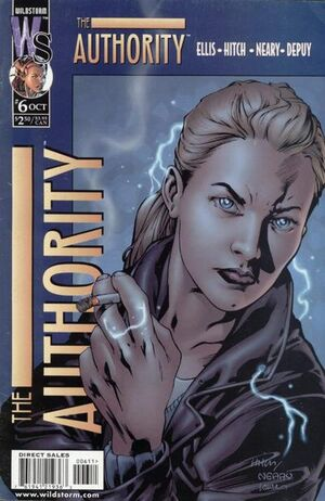 Cover for The Authority #6 (1999)