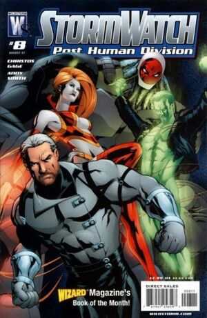 Stormwatch Post Human Division Vol 1 8