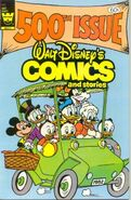 Walt Disney's Comics and Stories Vol 1 500