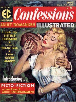 Confessions Illustrated Vol 1 1