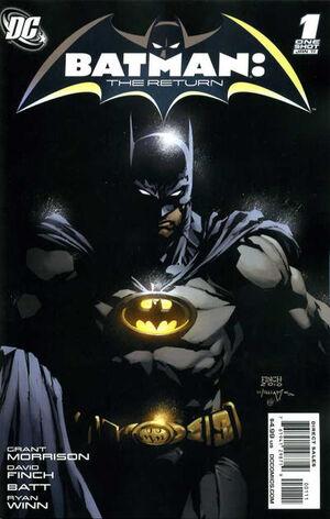 Batman The Return Vol 1 1