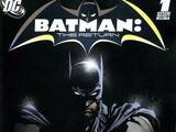 Batman: The Return Vol 1 1