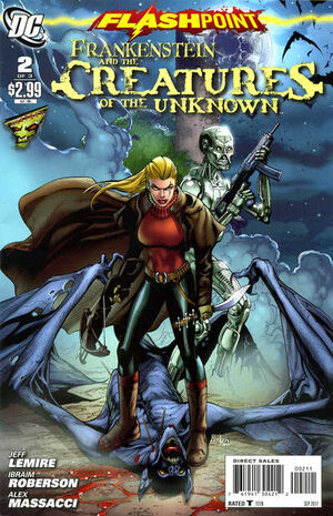 Flashpoint Frankenstein and the Creatures of the Unknown Vol 1 2