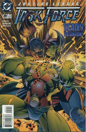 Justice League Task Force Vol 1 29