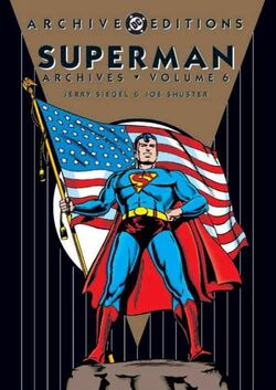 Cover for the Superman Archives Vol 1 6 Trade Paperback