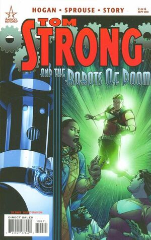 Tom Strong and the Robots of Doom Vol 1 2