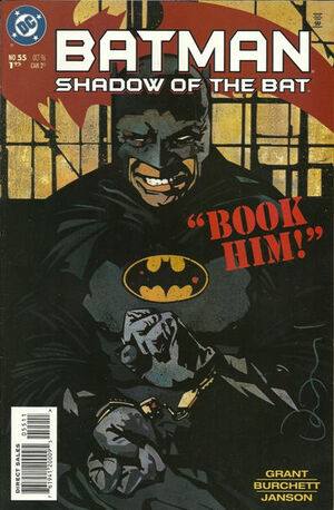 Batman Shadow of the Bat Vol 1 55
