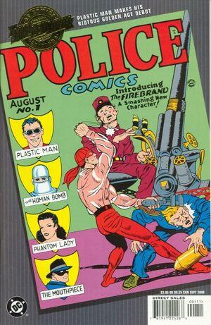 Millennium Edition Police Comics Vol 1 1