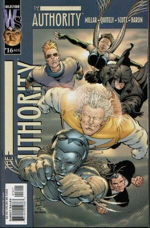 Cover for The Authority #16 (2000)