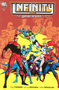 Cover for the Infinity Inc.: The Generations Saga, Vol. 1  Trade Paperback
