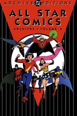 Cover for the All-Star Comics Archives Vol 1 6 Trade Paperback