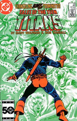 Tales of the Teen Titans Vol 1 55