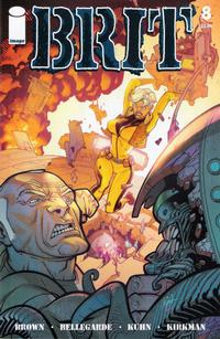 Cover for Brit #8 (2008)