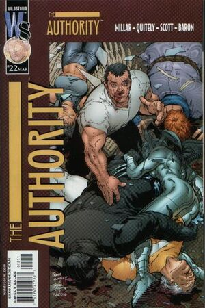 Cover for The Authority #22 (2001)