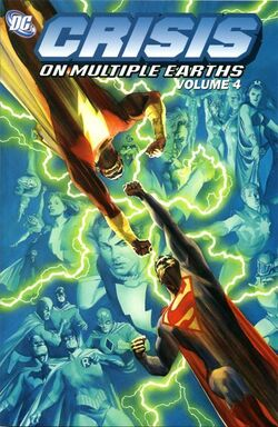 Cover for the Crisis on Multiple Earths Vol 1 4 Trade Paperback