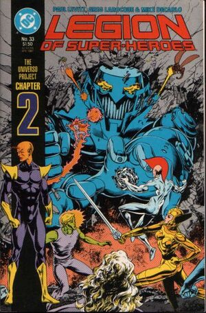 Legion of Super-Heroes Vol 3 33