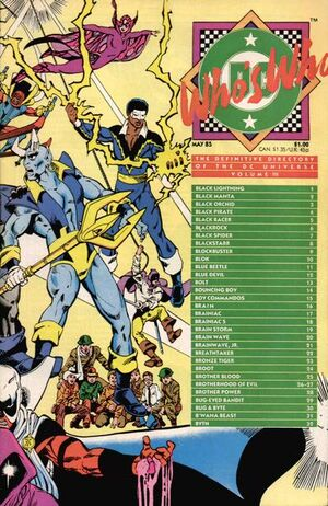 Who's Who Definitive Directory of the DC Universe 3