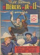 Bill Barnes, America's Air Ace Comics Vol 1 6
