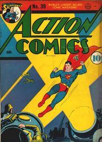 Action Comics Vol 1 39