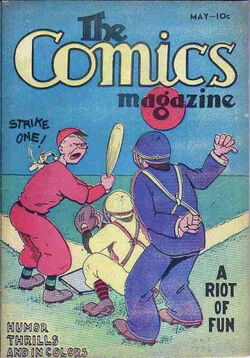 Comics Magazine Vol 1 1