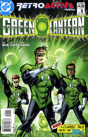 DC Retroactive Green Lantern The '80s Vol 1 1