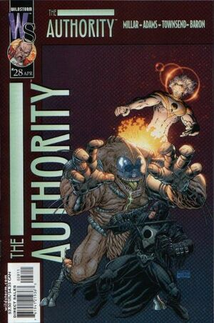 Cover for The Authority #28 (2002)