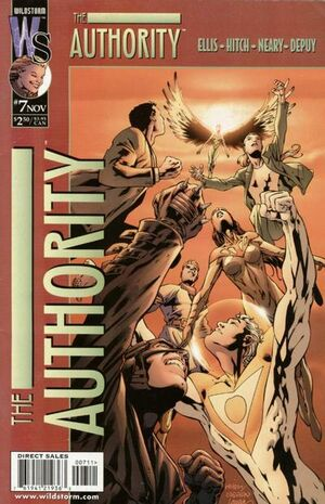 Cover for The Authority #7 (1999)