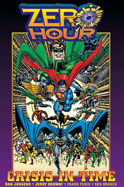 Cover for the Zero Hour  Trade Paperback