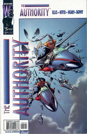 Cover for The Authority #5 (1999)