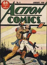 Action Comics Vol 1 8